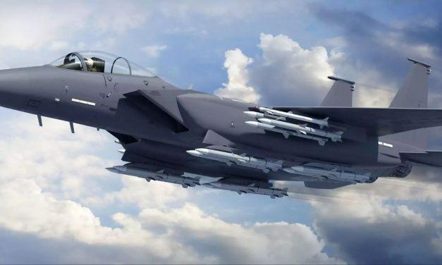 Boeing F-15X Wins USAF Bid